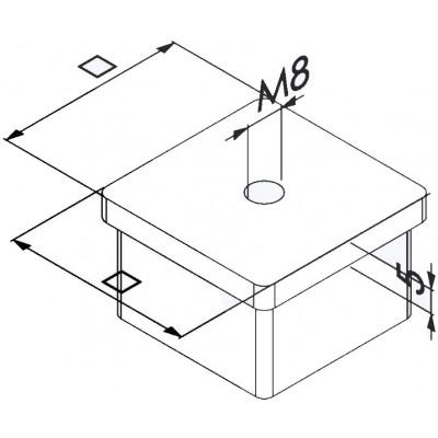 Terminale Quadrato con...