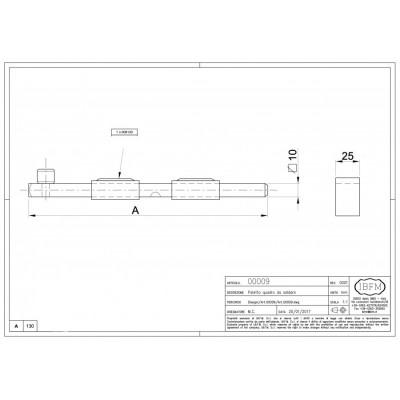 Catenaccio 130mm IBFM 009130