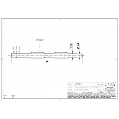 Catenaccio 600mm IBFM 008600A