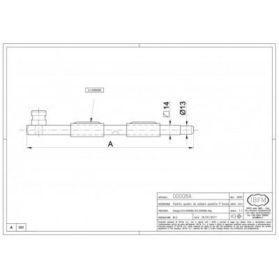 Catenaccio 330mm IBFM 008330A