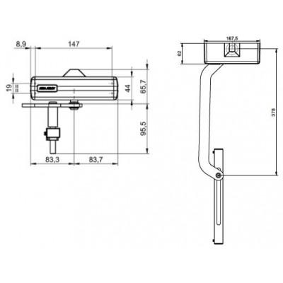 Chiudicancello 1000mm MAB 620G