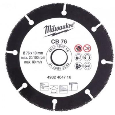 Disco Carburo  Milwaukee 76 CB